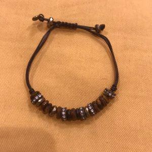 Fossil tigereye bracelet